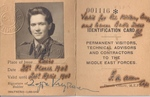 Photo Identification Card for Zofia A. Krzyżanowska