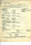 Final Balance from First Quarter 1946