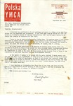 Letter from Paul Super to Zofia Drzewieniecki