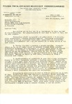 Letter from Paul Super of the Polish YMCA