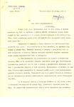 Letter from Tadeusz Kunicki to Zofia Drzewieniecki