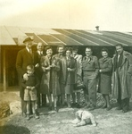 Staff From the Polish YMCA Attached to the Polish Armed Forces and Others