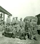 Zofia Krzyżanowska with Australian Soldiers