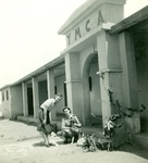 In Front of the Polish YMCA Building in Kassasin (Qassassin), Egypt