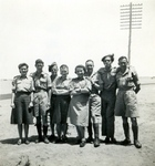 Polish YMCA and Other Auxiliary Service Staff Attached to the Polish Army in Kassasin (Qassassin) Egypt