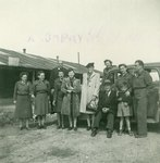 Staff From the Polish YMCA and Perhaps Other Auxiliary Services Attached to the Polish Army