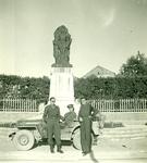 Stanisław Maciej Wiśniewski, Zofia Drzewieniecki, and Captain Włodzimierz Drzewieniecki in Italy