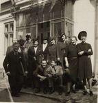Zofia Krzyżanowska with Other Poles