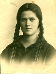 Zofia Wiśniewska as a High School Student