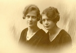 Anita Oświecimska and Her Sister Karola