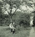 Maciej Wiśniewski with His Mother Maria Wiśniewski