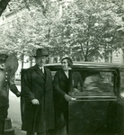Zofia Wiśniewska with Members of Polish Consul in Berlin