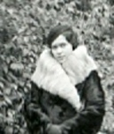 Zofia Wisniewska in WInter in Berlin