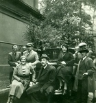 Zofia Gawrońska and Her Husband Wacław Gawroński with Members of The Polish Consul in Berlin
