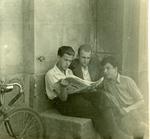 Stanisław Maciej Wiśniewski with His Friends