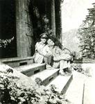 Zofia Drzewieniecki and Captain Włodzimierz Drzewieniecki on Their Honeymoon in Italy