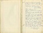 Organizations; Martha Society Minutes; 1915-1936